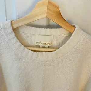 Only worn once!! beautiful Cynthia Rowley Sweater